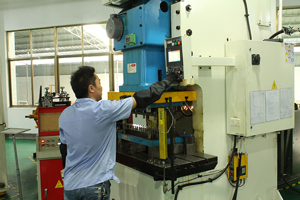 Stamping production equipment